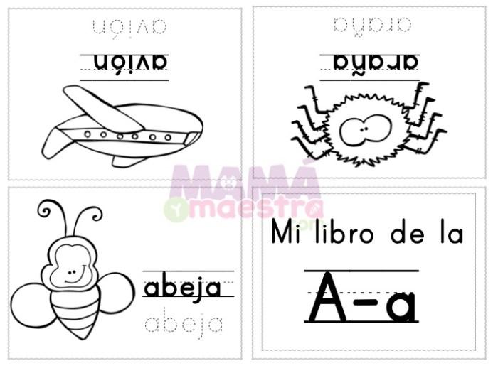 Mini-libros para aprender las vocales | Descarga e imprime GRATIS ...