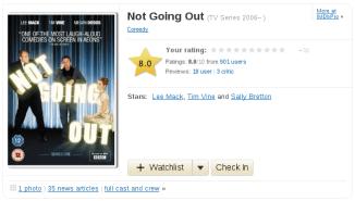 IMDb : Check In Button