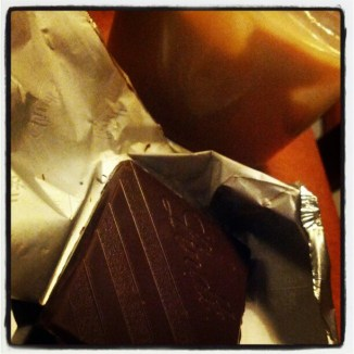 Baileys and chocolate
