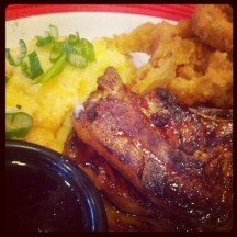 Jack Daniels pork chops