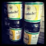 Krombacher barrels