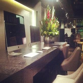 Macs at reception
