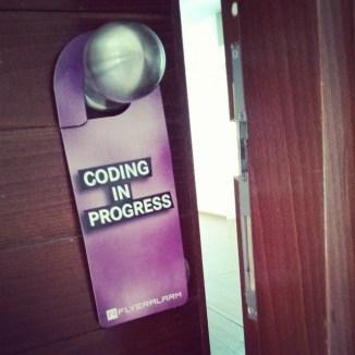 Coding in progress
