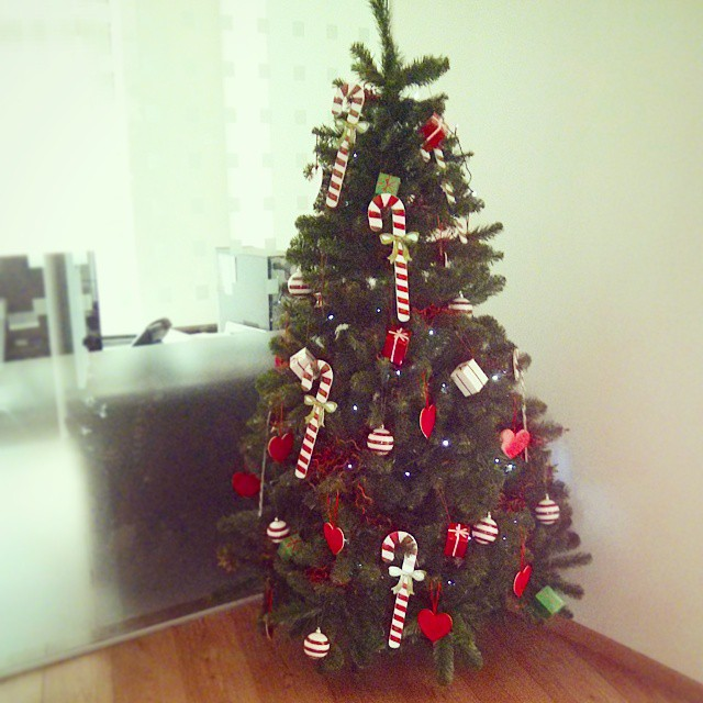 Qobo office Christmas tree