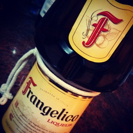 Frangelico. The taste of gold.
