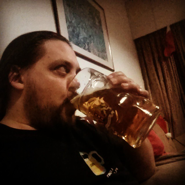 #selfie with the #beer