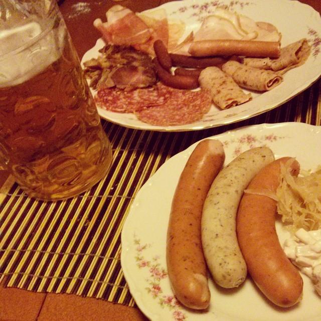 Bavarian dinner time