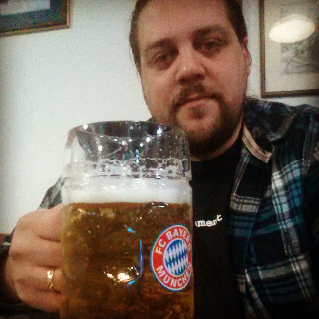 A #beer after work