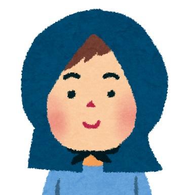 防災頭巾の画像