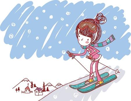 スキーの画像