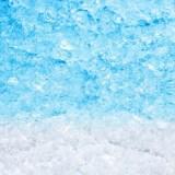 かき氷のブルーハワイの画像