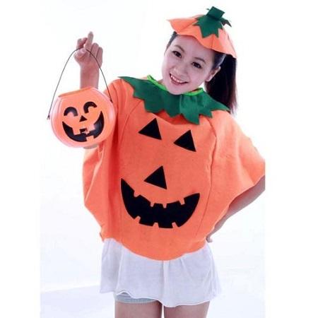 かぼちゃのお化けの仮装
