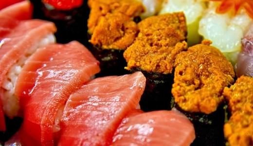 10月に食べると美味しい旬の寿司ネタは?