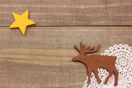 トナカイと星