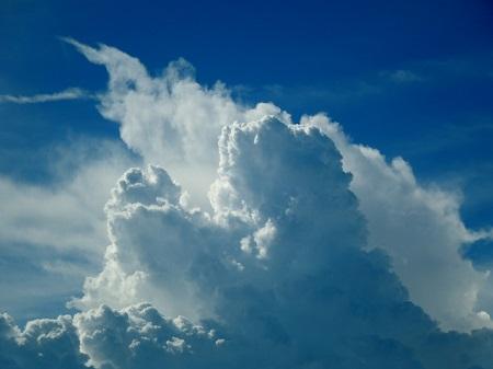 入道雲の画像