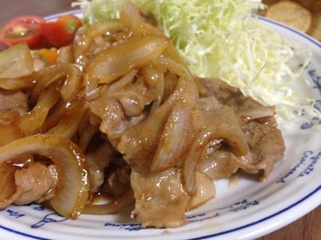 豚の生姜焼きの画像
