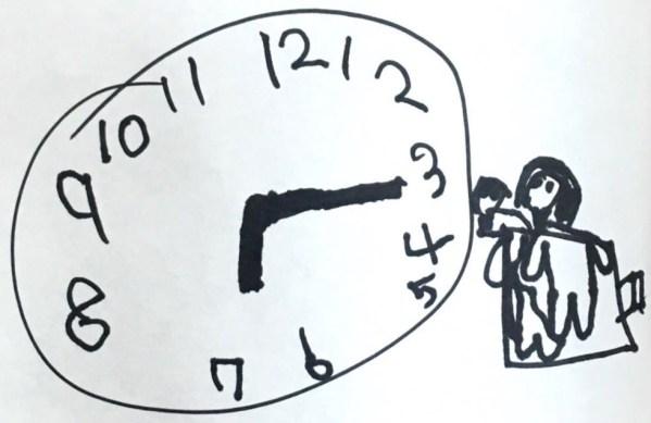 手作り模擬時計