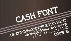 Cash Font - Cash-Font