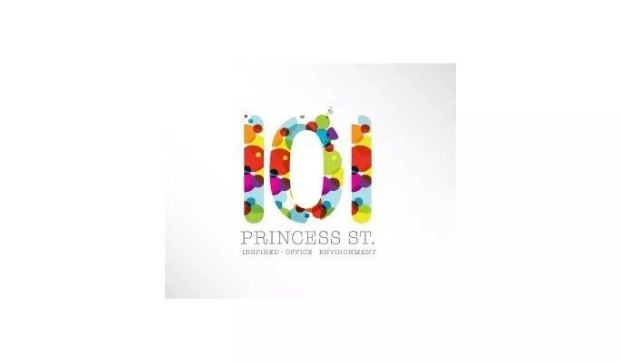 101 princess St - Inspiration Logo design