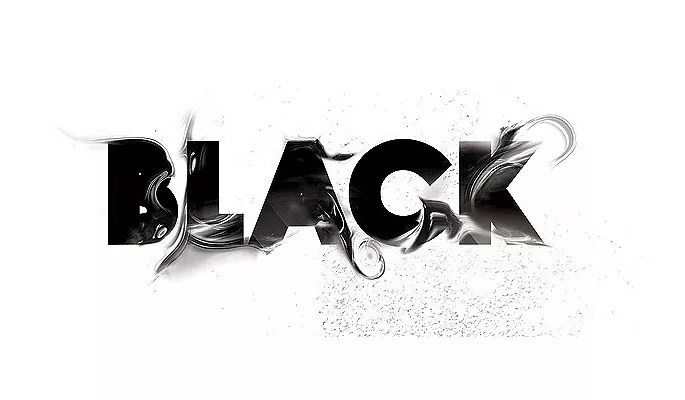 BLACK - Amazing and inspiring typography designs