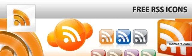 Free icons - Free RSS Feed Icons