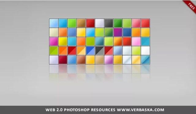 Web 2.0 Photoshop gradients - Free Gradients Color for Photoshop