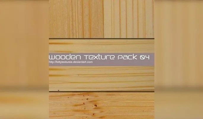 Wooden texture pack 04 - Clean Wood Textures for Designers