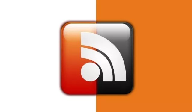 black and orang RSS - Free RSS Feed Icons