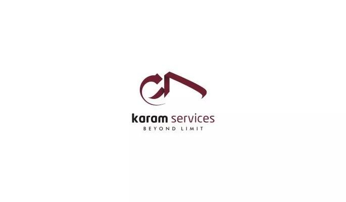 karam services - Inspiration Logo design