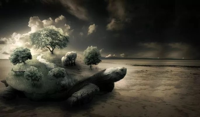 Create a Surreal Turtle Image - Best of Photoshop Tutorials