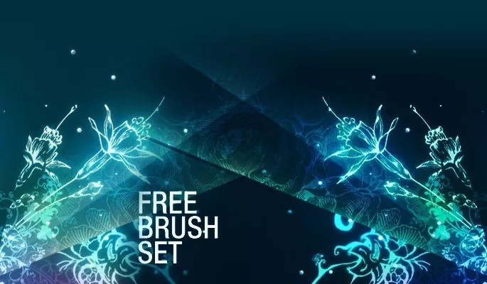 Free Floral Brushes Pack 1 - Free floral brushes for photoshop