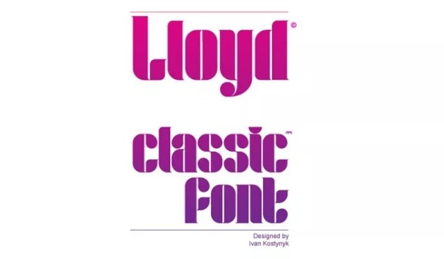 Lloyd Serif Free - 18 High quality free fonts for creative designs