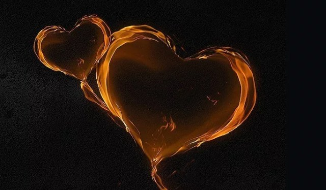 Magical Flaming Heart - Best of Photoshop Tutorials