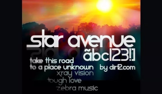 Star Avenue Free Font - 18 High quality free fonts for creative designs