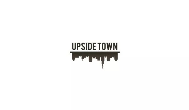 Upside Town - Inspiration logo designs