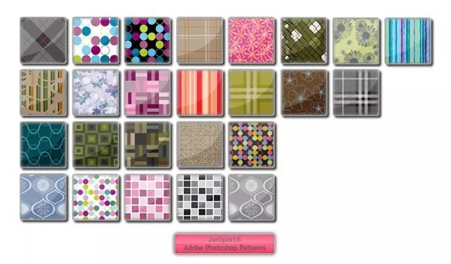 JanSport Patterns - Collection of free Photoshop patterns
