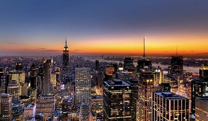 NYC Skyline Sunset Wallpaper - Amazing high resolution wallpapers