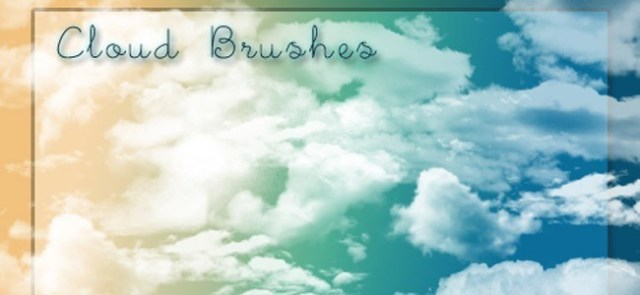 Real Cloud Brushes - 40+ Beautiful Photoshop Cloud Brushes