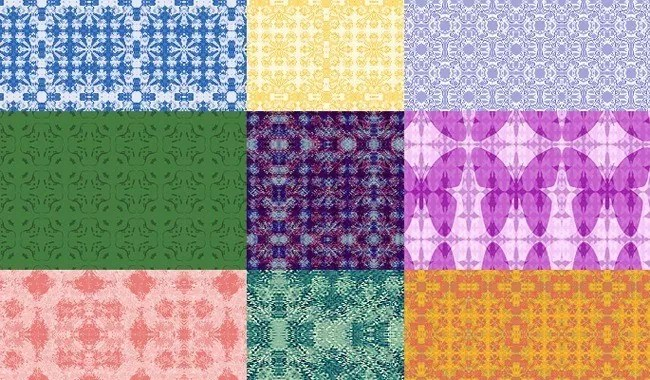 Sues Textile Pattern Set 2 - Collection of free Photoshop patterns