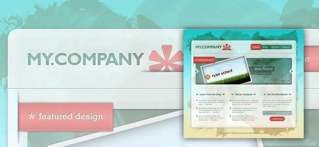 Create a Grungy Translucent Web Portfolio Design - 21 Photoshop Web Design Layout Tutorials