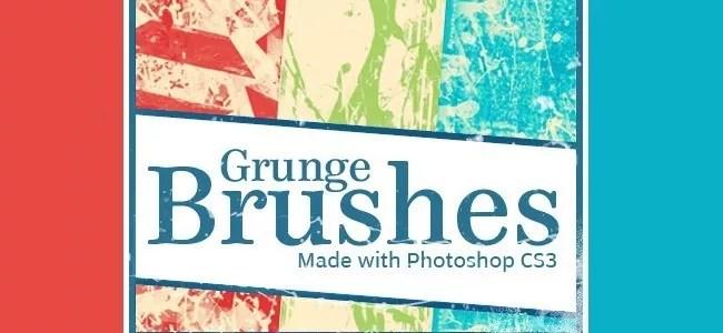 Grunge Brushes - 450+ Free Grunge Photoshop Brushes
