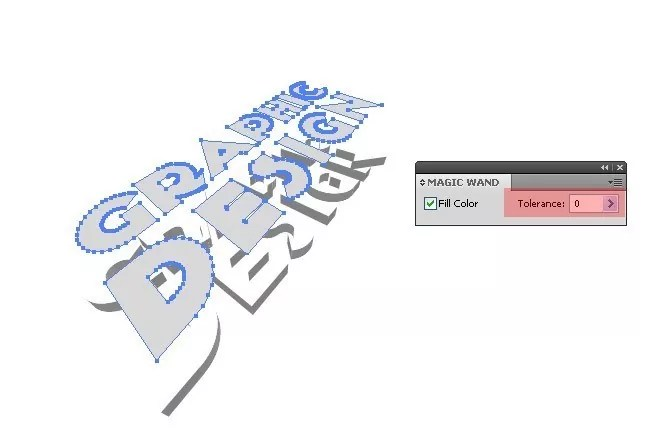Step04 - 3D Text Tutorial With Illustrator and Photoshop