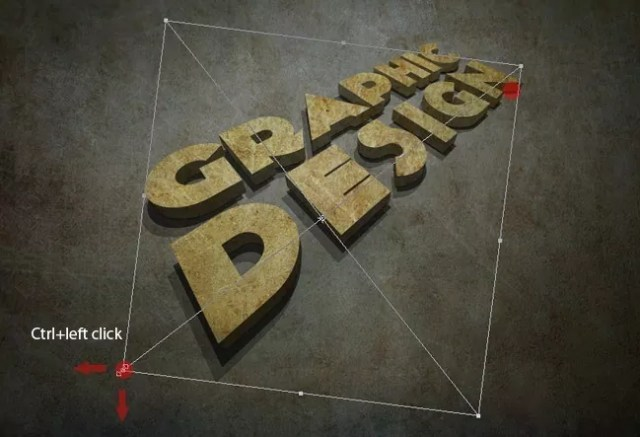 Step14 - 3D Grunge Text Tutorial With Illustrator and Photoshop
