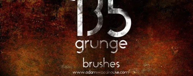 Ultimate Grunge3 - 450+ Free Grunge Photoshop Brushes