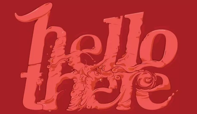 Hello There - 30 of Inspirational Typography Vol#03