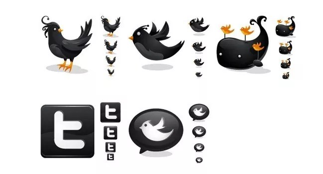 twitter04 - Twitter Icons and Buttons Collection For Your Next Design