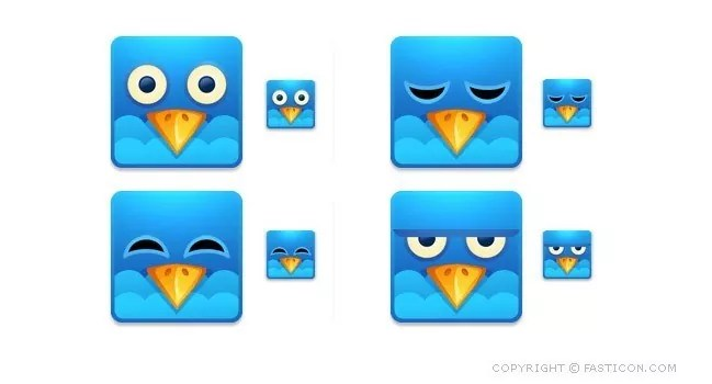 twitter08 - Twitter Icons and Buttons Collection For Your Next Design