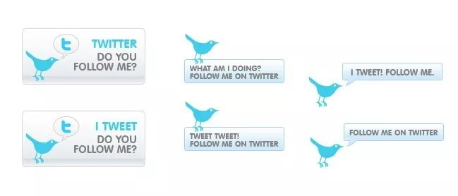 twitter13 - Twitter Icons and Buttons Collection For Your Next Design