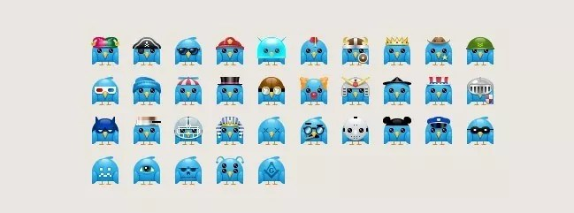 twitter20 - Twitter Icons and Buttons Collection For Your Next Design