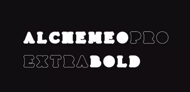 Alchemeo Pro- Extra Bold Fonts